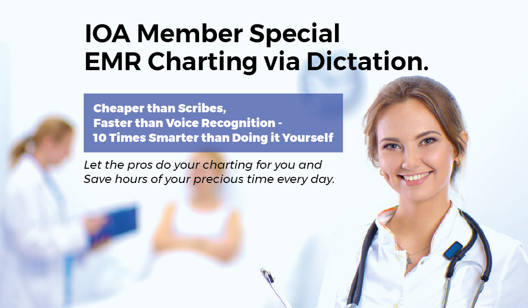 EMR Charting via Dictation - Fast, Professional, High Quality, Affordable
